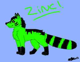 Zinc: ref sheet by Daisylasy3