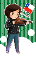 .:APH Chile:. Violin by Chisueo001
