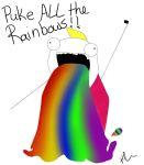 Puke ALL The Rainbows! by HavokKrueger
