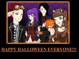 Happy Halloween! by Pana-sule