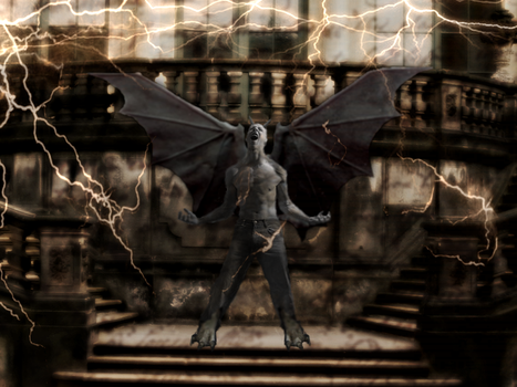 Gargoyle by SweetAzrael