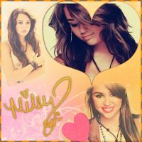 Miley Blend by TheYamiiSa