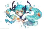:: Bottle Miku :: by Sangrde