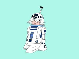 Near R2-D2 by Hedgehog-Russell