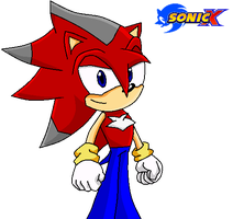 Sonic X Inferno The Hedgehog by Raventh1245