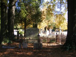 Autumn Cemetery 17 by DKD-Stock