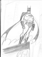 Batman sketch 1 by Theamat