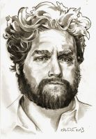 Zach Galifianakis by krio0ut