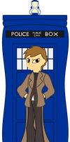 Hello there... I'm The Doctor. by Invader-Matt