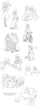 sketches part 5 by meago