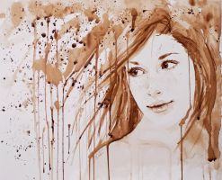 Coffee Painting 2 by MirielDesign