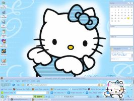 Desktop-Hello Kitty Angel by CailynDizon