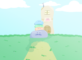 Slime Family by Cryaotic