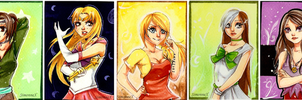 ACEO batch for Stefbani by SimonneX