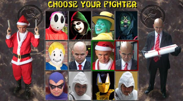 Choose Your Fighter II by DallenaD