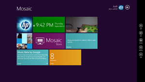 Mosaic: A Project toward a Windows 8 GUI by XtremeTakeoff