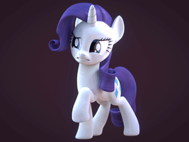 Rarity by CreatorOfPony