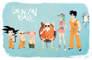 Dragon Ball Team by chillyfranco