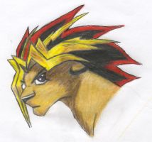 Yugi Lion by DarkFeather