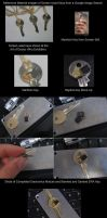 Sound of the Drums Chipped Tardis Key COMPLETED by Police-Box-Traveler