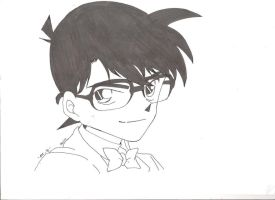 Edogawa Conan Drawing by Evanagirlz123