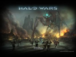 HALO WARS by StarAdder