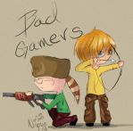 Bad Gamers. A request by xXMoreWithinXx