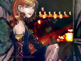TMI - CLARY-WALLPAPER by far-eviler