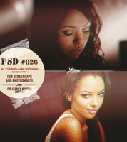 PSD #026 by itsdanielle91 by itsdanielle91