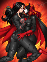 Commission: Baroness X Batwoman by jadenkaiba