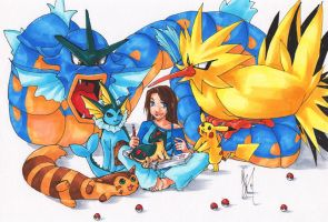 Pokemon Team Tae- by tae-