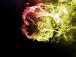 Smoke face by JacobO42
