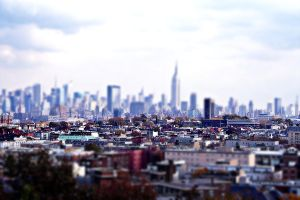 NY tilt-shift by SUNphotography