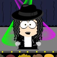 Michael Jackson South Park by Chaoslink1
