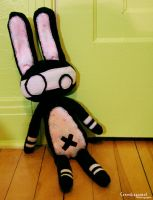 Bunny Plushie by Cosmiksquirel