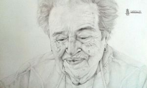 portrait - grandmother by Yampulse