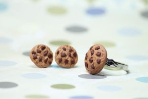 Chunky Chocolate Chip Cookie by Cutetreatsbyjany