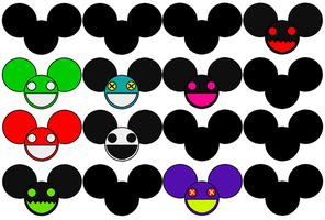 Deadmau5 Head Choices .:UPDATED:. by NU66S