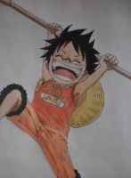 Luffy by bingkee