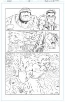 Fantastic Four sub page 3 by artistjerrybennett