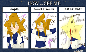 How ... see me Meme by Tikicchii