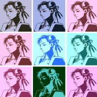 Street Fighter pop art Chun-Li 2 by DevintheCool