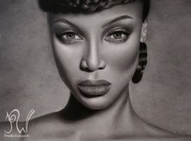 Tyra Banks by PriscillaW