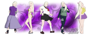 MMD Ino Yamanaka Pack DL by Friends4Never