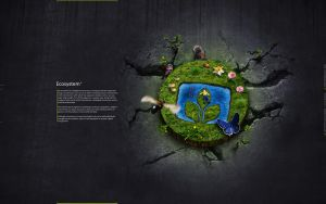 Ecosystem - Desktopography2010 by Vectortrance