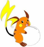 Raichu's babies kicking by FTD23