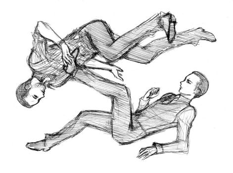 Eames and Arthur - Sketch by Mincelot