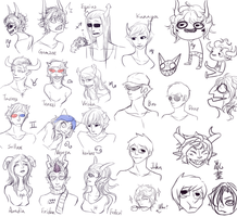 Homestuck doodle by yuhhei4666