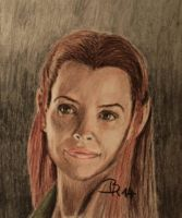 Tauriel by LoonaLucy