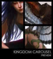 Kingdom Carousel Artbook Preview by k-atrina